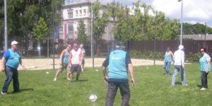 igra hodeči nogomet