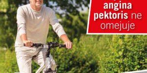 kolesar tudi ko si starejši - naj vas angina pektoris ne omejuje