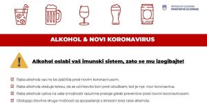 alkohol omeji imunski sistem - naslovna