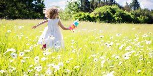 radost in veselje kot pri otroku