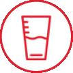 omejitev vnosa tekočine (na največ 2 litra na dan) in opustitev pitja alkohola